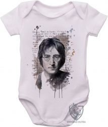 Roupa Bebê John Lennon Imagine