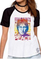 Blusa Feminina John Lennon peace