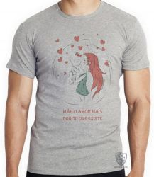 Camiseta Infantil Mãe amor bonito