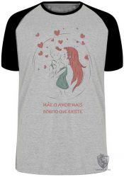 Camiseta Raglan Mãe amor bonito