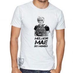 Camiseta Sarah Connor mãe mundo