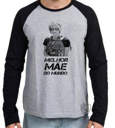 Camiseta Manga Longa Sarah Connor mãe mundo