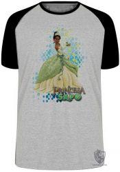 Camiseta Raglan A princesa e o sapo