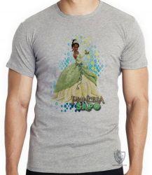Camiseta A princesa e o sapo