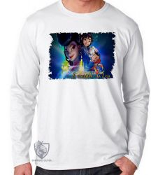 Camiseta Manga Longa A caminho da lua