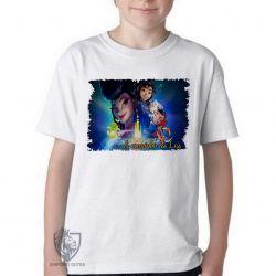 Camiseta Infantil A caminho da lua