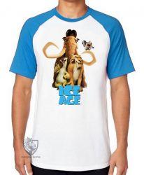 Camiseta Raglan A era do gelo