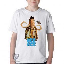 Camiseta Infantil A era do gelo