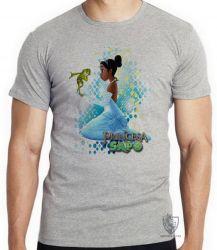 Camiseta A princesa e o sapo vestido