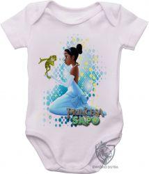 Roupa Bebê A princesa e o sapo vestido