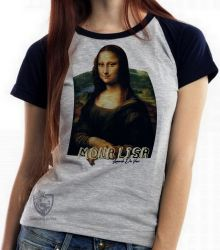 Blusa Feminina Mona Lisa Da Vinci