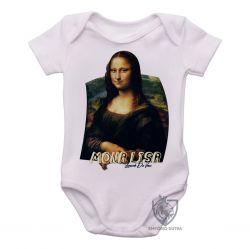 Roupa Bebê Mona Lisa Da Vinci