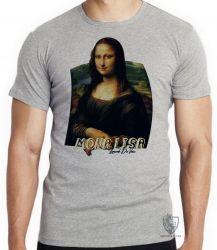 Camiseta Mona Lisa Da Vinci