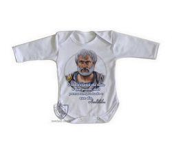 Roupa Bebê manga longa Aristóteles