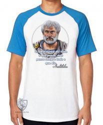 Camiseta Raglan Aristóteles