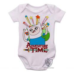 Roupa Bebê Finn Hora da Aventura estrelas