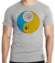 Camiseta Infantil Jake Finn redondo