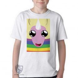 Camiseta Infantil Lady Íris rosto