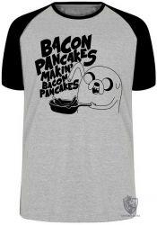 Camiseta Raglan Jake Pancakes