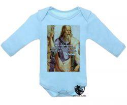 Roupa Bebê manga longa Platão