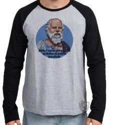 Camiseta Manga Longa Sócrates