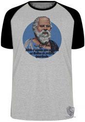 Camiseta Raglan Sócrates