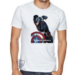 Camiseta Steve Rogers Cap