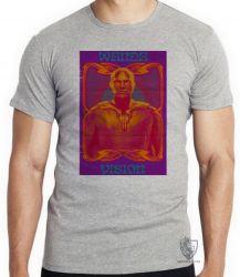 Camiseta Visão Vingadores herói