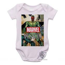 Roupa Bebê Visão herói antigo