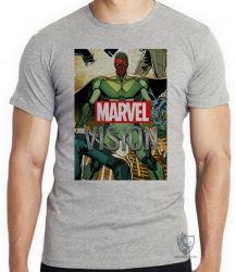 Camiseta Visão herói antigo