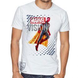 Camiseta Visão Vingadores perfil