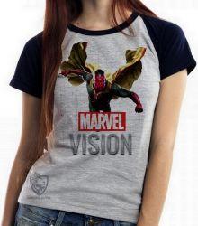 Blusa Feminina Visão Vingadores voando