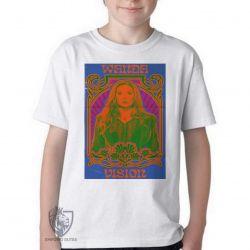 Camiseta Infantil Wanda Feiticeira Escarlate