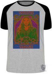 Camiseta Raglan Wanda Feiticeira Escarlate