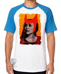 Camiseta Raglan Wanda Feiticeira lágrima