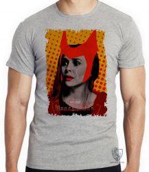 Camiseta Infantil Wanda Feiticeira lágrima