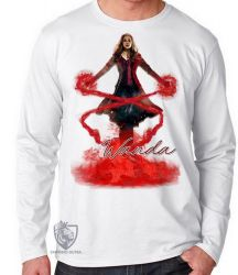 Camiseta Manga Longa Wanda poder