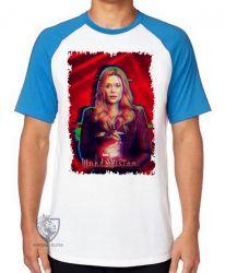 Camiseta Raglan Wanda poder concentrado