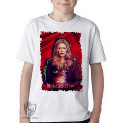Camiseta Infantil Wanda poder concentrado
