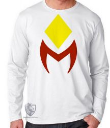 Camiseta Manga Longa Wanda Vision símbolo