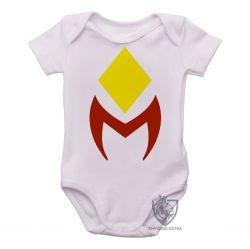 Roupa Bebê Wanda Vision símbolo