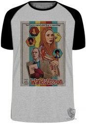 Camiseta Raglan Wanda Vison papel