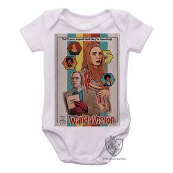 Roupa Bebê Wanda Vison papel