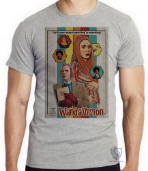 Camiseta Wanda Vison papel