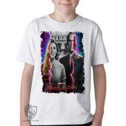 Camiseta Infantil Wanda Vision TV