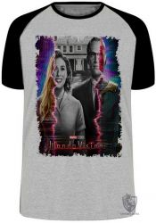Camiseta Raglan Wanda Vision TV