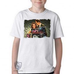Camiseta Infantil WandaVision monitores