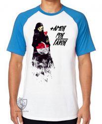 Camiseta Raglan + amor por favor