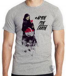 Camiseta + amor por favor