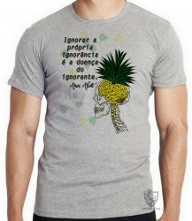 Camiseta Amos Alcott ignorância